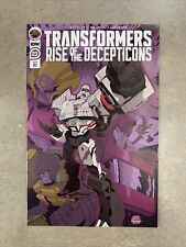 Transformers Rise of the Decepticons #23 1:10 RI Corey Lewis Variant IDW 2020