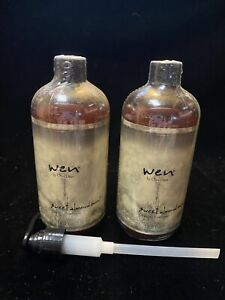 Wen Sweet Almond Mint Cleansing Conditioner Shampoo 16 oz Lot 2 Pump New Sealed