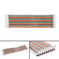 40Pin GPIO Signal Ribbon Flat Câble Pour Raspberry Pi Modèle B+ DIY Maker BS7 AF