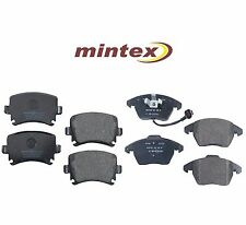 For Audi A3 Quattro VW GTI Rabbit Front & Rear Disc Brake Pads KIT Mintex