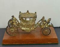 Quality 1977 Silver Jubilee Miniature Queens Carriage in Box