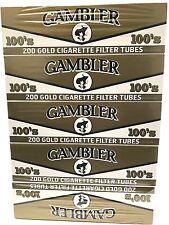 Gambler Light 100MM RYO Cigarette Tubes - 5 Boxes (1000 Tubes)