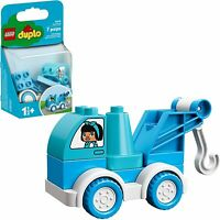 LEGO Duplo Vehicle Bright Green Tank Truck with Planes Chug Pattern