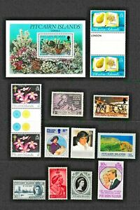 Pitcairn Island Stamps, Miniature Sheets and Covers