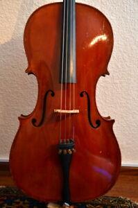 Sehr schönes altes Cello Violoncello 4/4 fine old violoncelle