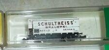 N Scale Minitrix 13601 Schultneiss Beer Wagon