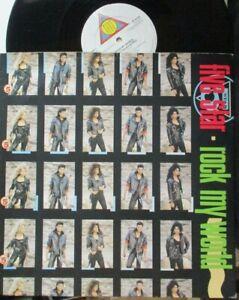 "FIVE STAR ~ Rock My World ~ 12"" Single PS"