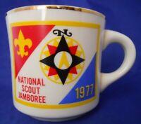 Vintage National Scout Jamboree 1977 Boy Scouts B.S.A Coffee Mug Cup