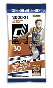 20-21 donruss NBA fat pack