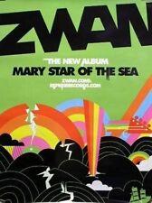 ZWAN 2003 mary star of sea promotional poster Billy Corgan Smashing Pumpkins