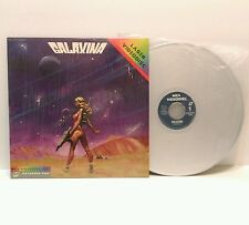 Original 1981 GALAXINA sci-fi b-movie MCA Videodisc LASERDISC  Made in Japan