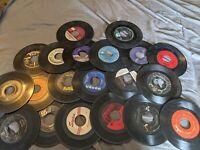 "Lot of (50) Random 45 rpm 7"" Vinyl Records 1950's 60's Classical Jazz Western"