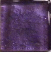 Royal Purple Metallic Glass Mosaic Tiles - 3/8 inch - 50 count - Art Tiles