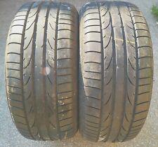 225-50-16 92V Bridgestone potenza RE050 I X2 summer runflat Tyres 5.6mm-6mm