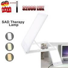 SAD Tageslichtlampe 32000 LUX Lichttherapie LED Therapielampe Wohlfühlleuchte