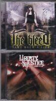 LOT OF 2 XIAN REX CARROLL-TAKE BACK A LIFE + LIBERTY N JUSTICE-LIGHT IT *NEW-CD