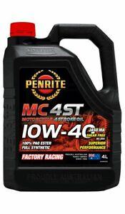 Penrite MC-4ST 10W-40 100% Pao & Ester 4L