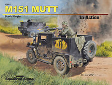 M151 MUTT IN ACTION  Doyle WW2 US Army Book jeeps