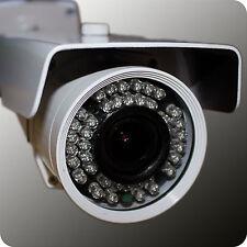 SONY Full-HD-Überwachungskamera SDI - 42 IR-LED - 2,8-12mm - OSD - 1080p - weiß