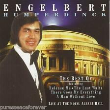 ENGELBERT HUMPERDINCK - The Best Of: Live At The Royal Albert Hall (UK CD Album)