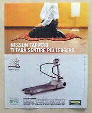B604-Advertising Pubblicità-2004 - TECHNO GYM HOME WELLNESS