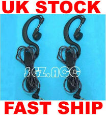 Pair Security Headset/Earpiece Motorola TLKR-T5 TLKR-T6 TLKR-T7 TLKR-T8 New