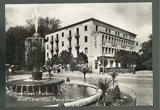 vecchia cartolina di abano terme padova hotel terme villa pace e gran fontana