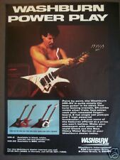 1985 vintage Ad Washburn HM-5 electric guitar