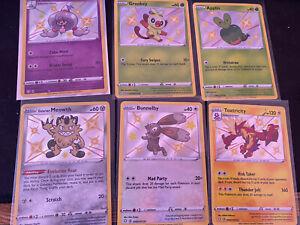 Shining Fates Fates Baby Shiny Lot Of  6 Pokemon TCG NM/M