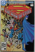 Man of Steel #3 (Nov 1986, DC), NM-MT, intro/origin Magpie, Batman cover & story