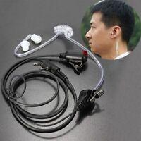 FBI Style Headset Earphone Earpiece Talk about Radio Walkie Talkie 2 Pin
