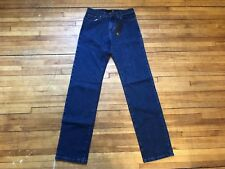 JUST CAVALLI COOL DARK WASHED BLUE DENIM JEANS S 30 44 MADE IN ITALY
