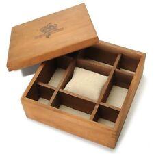Invicta Sea Base Wooden Rare Watch Collectors Box/Case