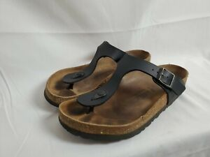 Birkenstock Womens Size 6 37 Gizeh Thongs Flat Sandal T-Strap Germany Made Shoes