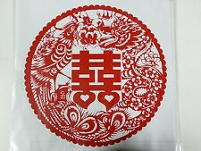 Free Shipping Wedding SuppliesRed Chinese Word Double Happiness 03 (I)