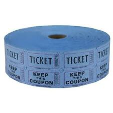 Blue Double Raffle Ticket Roll 2000, New, Free Shipping