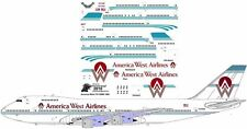 America West Boeing 747-100 decals for Revell 1/144 kit
