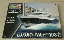 New ListingNew Rare Sealed Revell 1/72 Luxury Yacht 108Ft Model Kit 05145 Free Shipping!