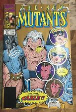 The New Mutants #87 March 1990 First Cable Marvel Comics Deadpool