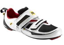 Mavic Tri carrera compuesto Zapatos De Ciclismo Blanco/Negro/Rojo Reino Unido 4, EU 37
