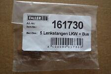 FALLER - CAR SYSTEM - 5 STÜCK LENKSTANGEN LKW + BUS - ART. 161730 - (FAL 423)