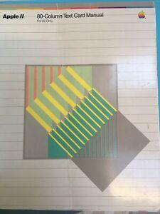 Apple II 80-Column Text Card Manual