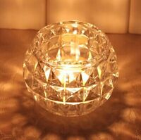 Tea light candle glass vase small fish bowl VD-175