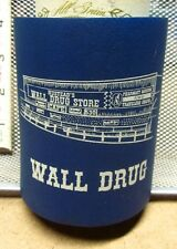 Wall Drug Store South Dakota beer koozie Free Ice cafe Water Store logo koolie