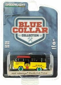 GREENLIGHT 1:64 1968 VOLKSWAGEN DOKA W/ CANOPY PENNZOIL  35180-A CHASE