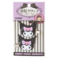 KUROMI My Melody Hair Clip Bangs Clip set Sanrio Kawaii Cute F/S NEW ZJP