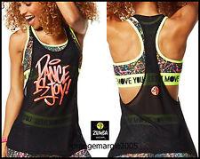 Zumba 2Pc.SET!! Sparks Fly Scoop Bra + Dance is Mesh Joy! Pink Foil - EliteZear