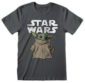 Official STAR WARS The Mandalorian THE CHILD BABY YODA Unisex T-Shirt Tee NEW
