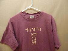 Men's Vintage Rock Pop Rock Train Band T-shirt Xl (k781)