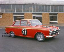 Ford Cortina GT Mk2 Lotus Whitmore 1965 European Saloon Championship Alan Mann